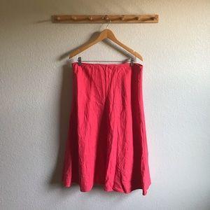 Eileen Fisher Linen Skirt